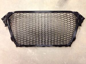 Audi a4 s4 rs4 b8 2013-2015 grille grille black honeycomb