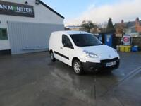 Peugeot Partner 850 Se 1.6 Hdi 92 Van DIESEL MANUAL WHITE (2014)