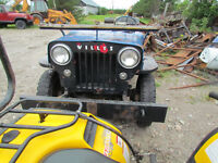 Jeep Willys 4X4 annee 1957