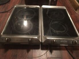 Smeg electric cooker hobs
