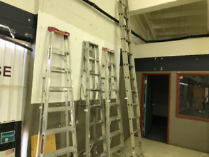 8 ' Ladders and 12' to 24 Foot Ladder