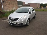 VAUXHALL CORSA 1.2•ONLY 18,000 MILES!•YEARS MOT•FSH•1 LADY OWNER•(polo golf Astra Clio fiesta focus)