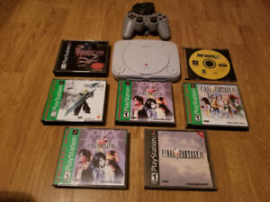 PlayStation Slim For Sale With Games Priced Separately