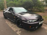 Nissan Skyline GT-R R33 V-Spec 2.6 Twin Turbo in MIDNIGHT PURPLE