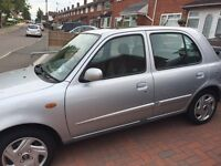 5dr Nissan Micra sport 1L petrol 2001 genuine low miles 48k