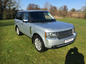 2010 Land Rover Range Rover 3.6TD V8 auto Vogue LOW MILEAGE