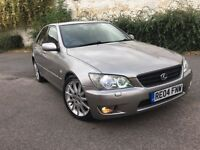 LEXUS IS 200 LIMITED EDITION FSH+HEATED LEATHER+XENON