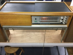 Telefunken Console Stereo with Turntable