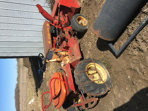 Great project Old Bush Hog Tractor