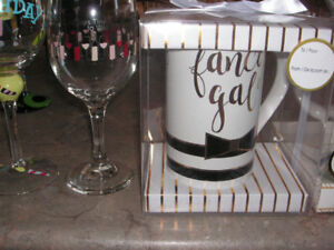 Variety of glassware what is left... for wedding and anniversary
