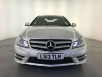 2013 MERCEDES C220 AMG SPORT CDI BLUE EFFICIENCY DIESEL AUTO SERVICE HISTORY