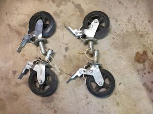 8 in Scaffold wheels