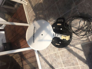 Winegard portable sat, dish