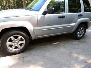 2003 jeep liberty limited edition,4x4,fully loaded,