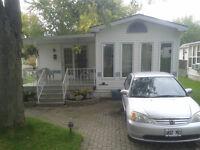 doublewide mobile home in Green Acres Park Waterloo