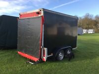 Blue. Line. Twin. Axel. Box. Trailer. £2250.
