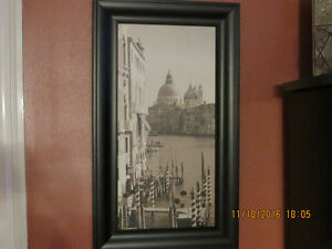 Venice wooden canvas picture (one of two)