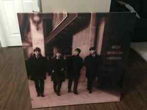The Beatles - 2 stretched canvas prints and Abbey Road sign Cambridge Kitchener Area image 1