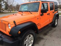 2013 Jeep Wrangler Unlimited Sport SUV, Crossover