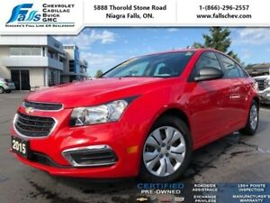 2015 Chevrolet Cruze 2LS  BLUETOOTH,ONE OWNER,LOCAL TRADE