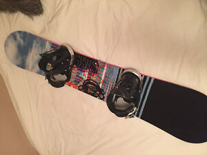 GREAT DEAL on snowboard/bindings and boots