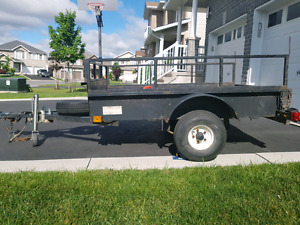 Heavy duty utility trailer - 4 x 6