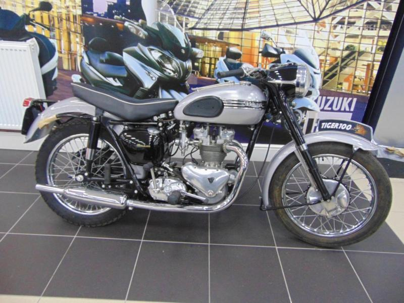 1954 Triumph Tiger T100 Only 44 Miles On Its Odometer Since Its