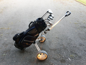 Left hand 11-piece golf set