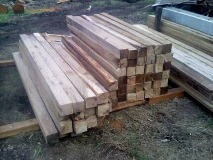 100MM X 100MM CLASS 1 FENCE GRADE HARDWOOD POSTS Samford Village Brisbane North West Preview