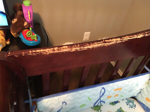 Crib with mattress Moose Jaw Regina Area image 2