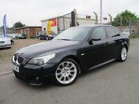 BMW 5 SERIES 530d M SPORT (black) 2006