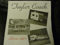 WANTED TO BUY -    SMALL TAYLOR COACH TRAILER