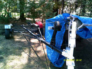 Boat  trailer for 12' or 14' aluminum fishing boat