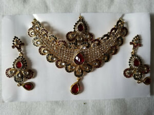 indian jewelrey necklase set  $10