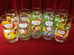 McDonald's Camp Snoopy Collections Glasses   ALL 5  FOR $40