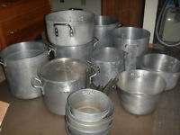 Commercial Pots/ Pans/ Woks for Sale