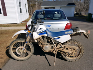 2000 Yamaha Street Trail With Lots of Spare Parts