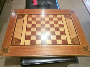 Vintage 1967 Chess / Check Table Top