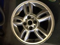 "1x 15"" mini alloy wheel"