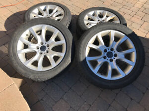 BMW X6 mags tires 255 50 R19