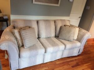 Sofa, Chair and Ottoman - 3 piece matching set