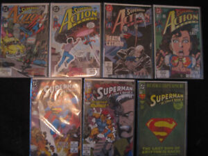 """[NM-MT] """"SUPERMAN FT. IN ACTION COMICS"""" X7 ISSUE LOT"""