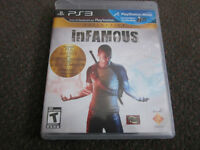 Infamous 1 & 2 plus Festival of Blood - New, Open Box