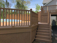 Summer Deck Staining 902-441-3515