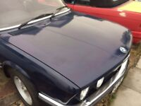Bmw e28 5 series full interior seats + blue door cards 1982 low millage car breaking spares