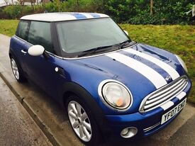 Mini Cooper hatch with full service history