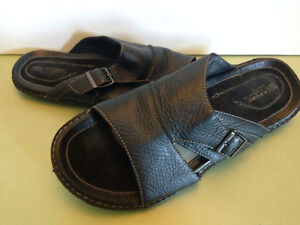 Rockport Seaport Slippers Black 13M and Brown 13W