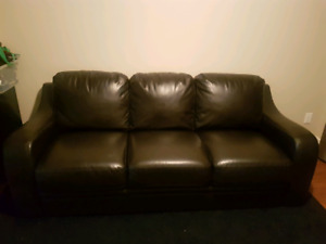 3 seat leather couch for sale!!!