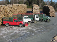 Firewood Delivery Truck Driver
