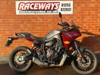 YAMAHA TRACER 700 2020 20REG GREY, WITH K-TECH SHOCK 557 MILES USED MOTORCYCLE